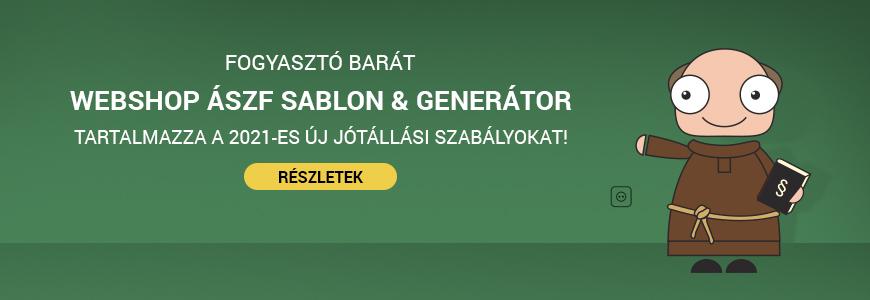 ÁSZF sablon & generátor